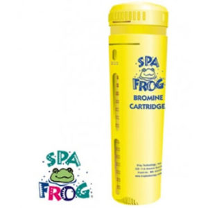 Spa frog bromine